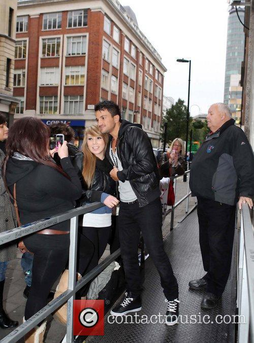 Peter Andre and Leaves 13