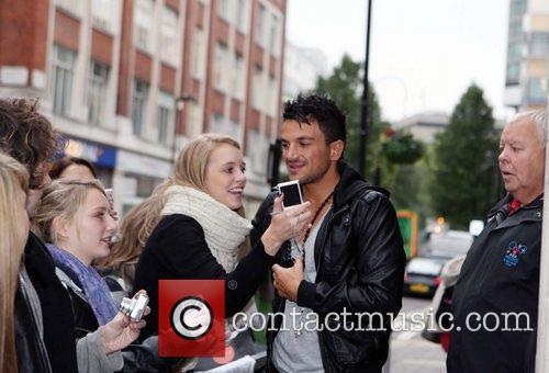 Peter Andre and Leaves 15