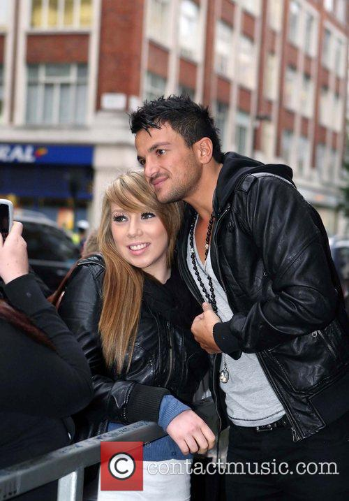 Peter Andre and Leaves 11