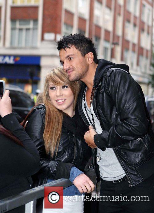 Peter Andre and Leaves 14