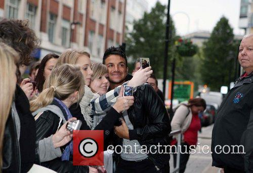 Peter Andre and Leaves 16