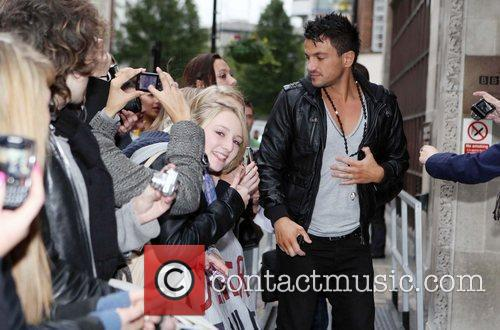 Peter Andre and Leaves 12
