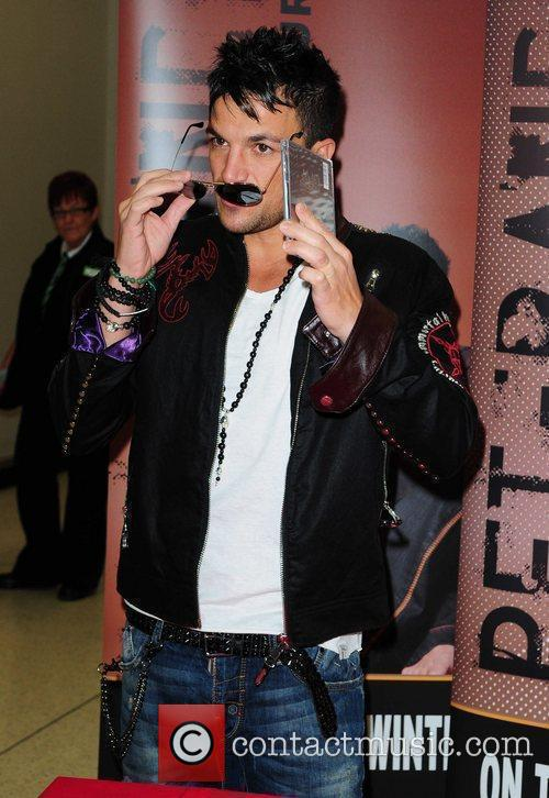 Peter Andre  Peter Andre signs copies of...