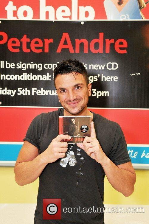 At Tesco Chesterfield where he has been signing...