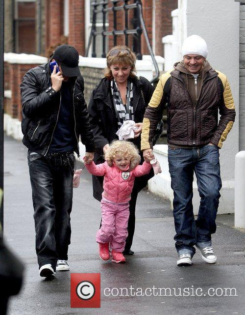 Heads to Topolinos restaurant with his daughter Princess...