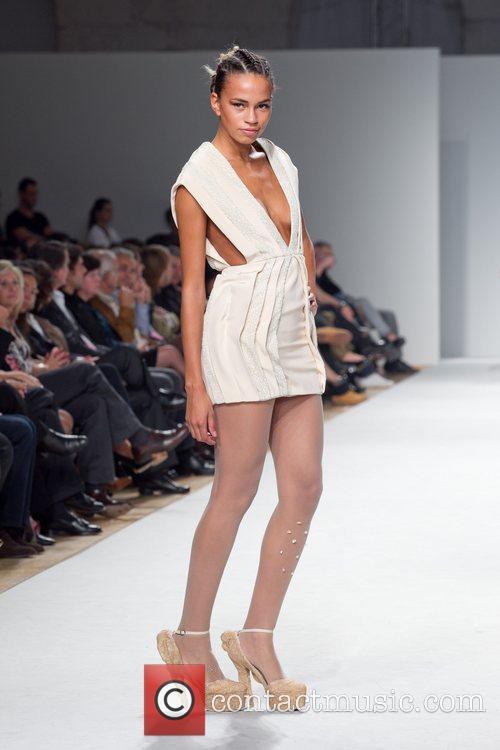 Model Portugal Fashion Week Spring/Summer 2011 - Fatima...