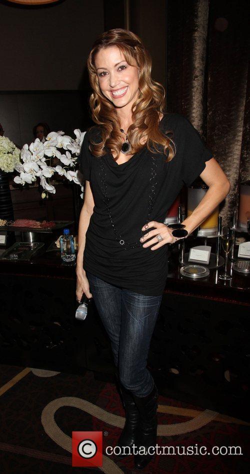 Shannon Elizabeth at Aria Resort & Casino Poker...