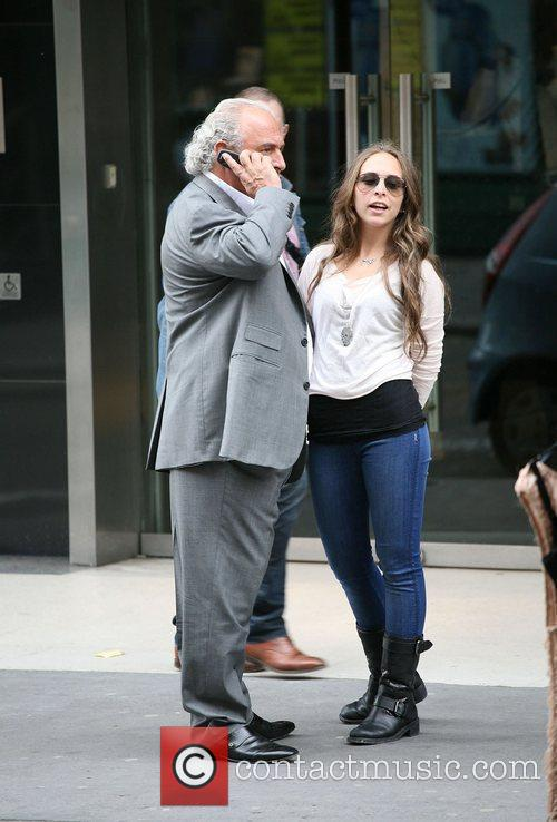 Sir Philip Green out and about in central...