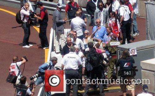 Jennifer Lopez, Bernie Ecclestone and Marc Anthony 4