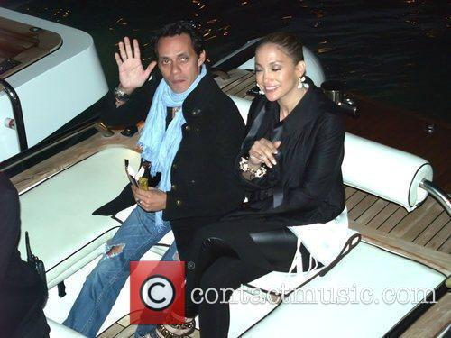 Jennifer Lopez, Bernie Ecclestone and Marc Anthony 7