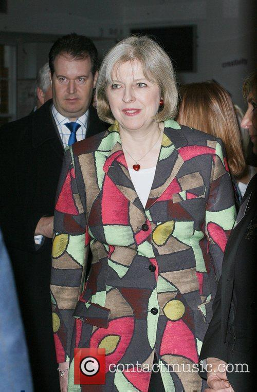 Home Secretary Theresa May 3