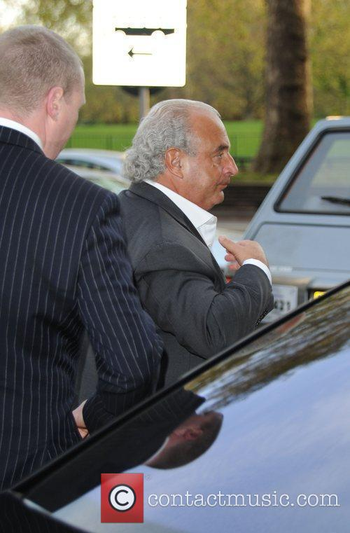 Sir Philip Green Celebrities outside the Dorchester hotel...