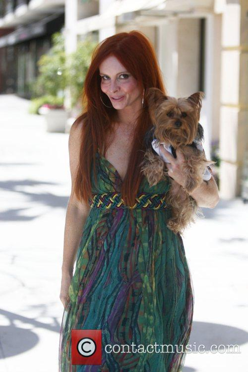 Phoebe Price was spotted shopping in Beverly Hills,...