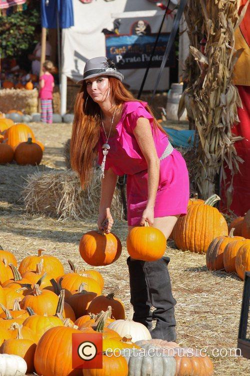 Phoebe Price at Mr. Bones Pumpkin Patch in...