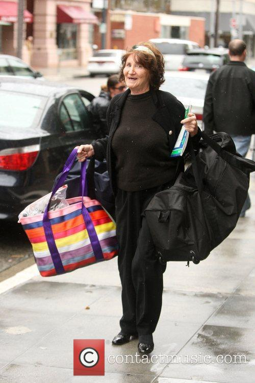 Flora Price shopping in Beverly Hills with her...