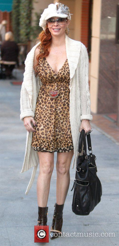 Leaving a medical centre while wearing a leopard...