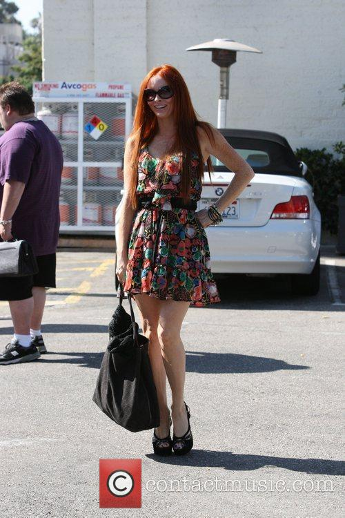 Phoebe Price seen and and about in Beverly...