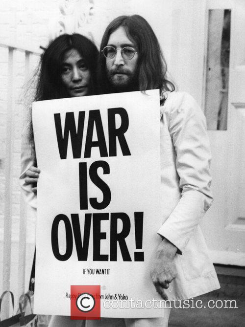 John Lennon and Yoko Ono 4