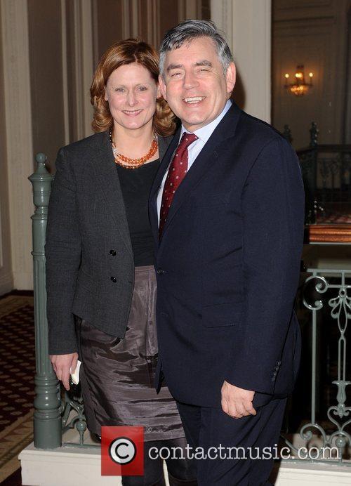 Gordon Brown, Cnn, Piers Morgan and Sarah Brown 1