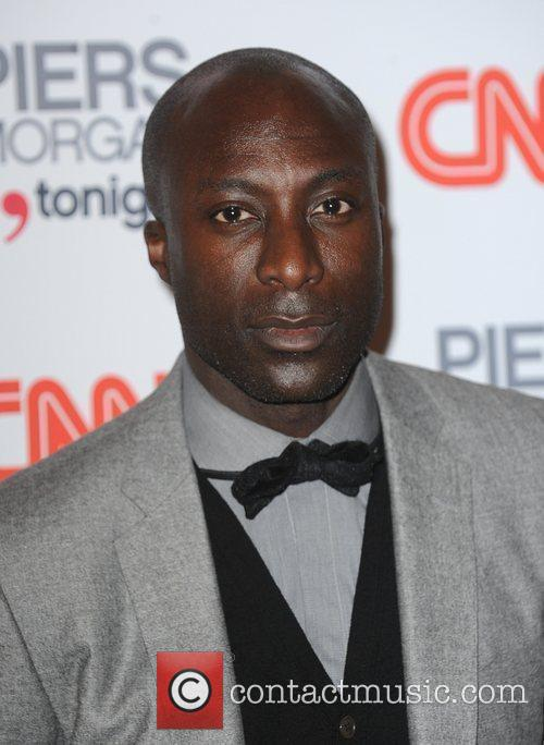 Ozwald Boateng arriving at the launch of CNN's...