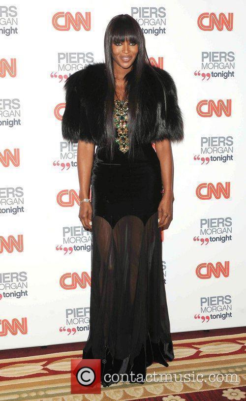 Naomi Campbell, Cnn and Piers Morgan 5