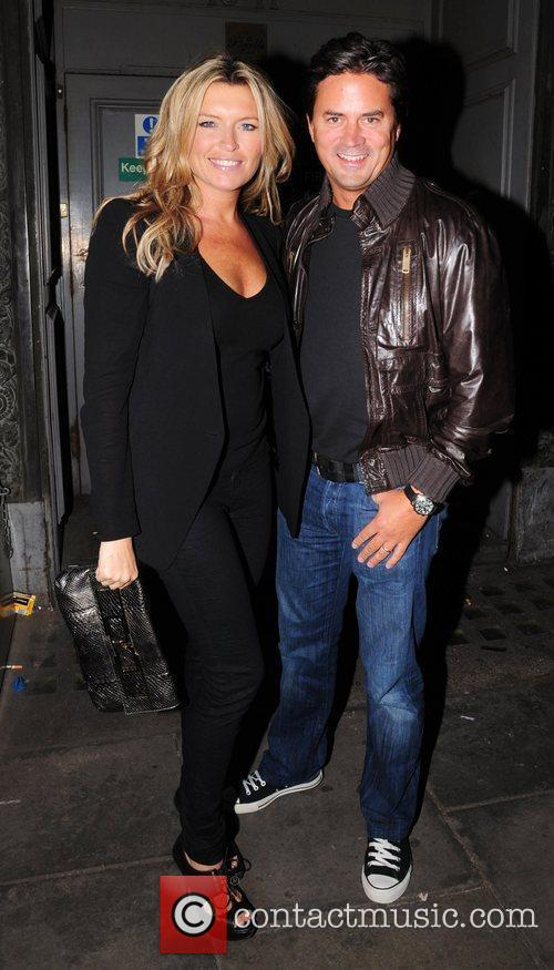 Tina Hobley and Charlotte Church