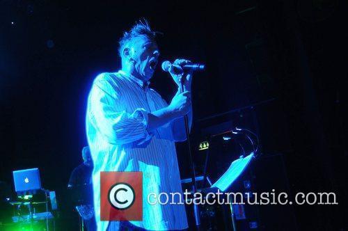 John Lydon of PiL, Public Image Ltd performs...