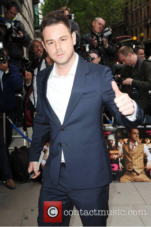 Danny Dyer World premiere of 'Pimp' at the...