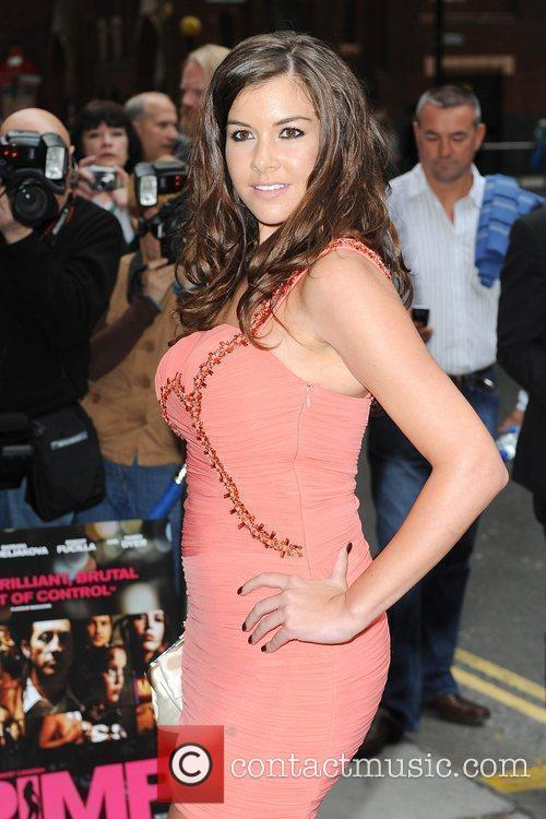 Imogen Thomas World premiere of 'Pimp' at the...