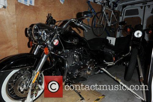 Pink's Harley Davidson Motorcycle