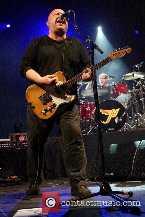 The Pixies performing live in concert at the...