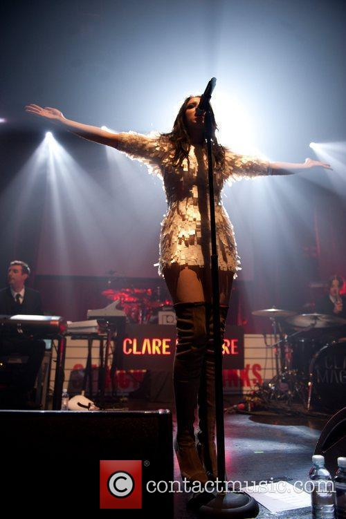 Clare Maguire performing at the O2 Academy...