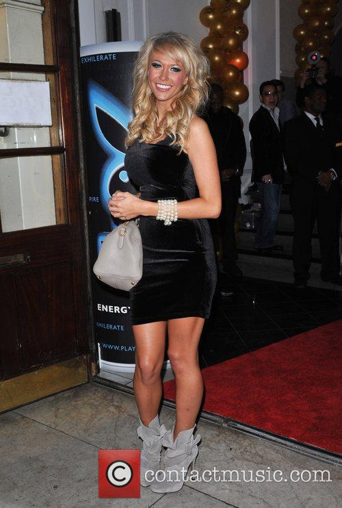 Guest Playboy Energy Drink launch held at the...