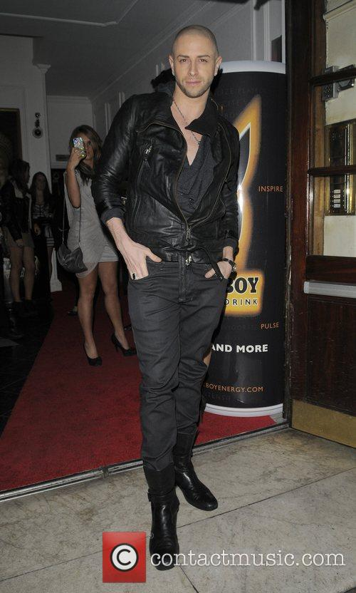 Brian Friedman Playboy Energy Drink launch party, held...