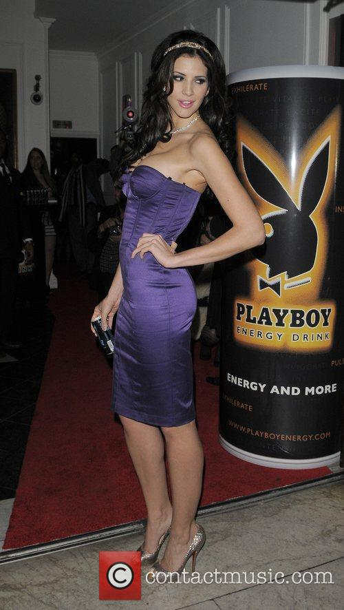 Hope Dworaczyk Playboy Energy Drink launch party, held...