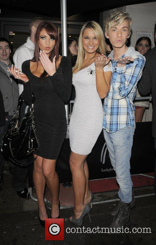 Amy Childs, Sam Faiers and Harry Derbidge are...