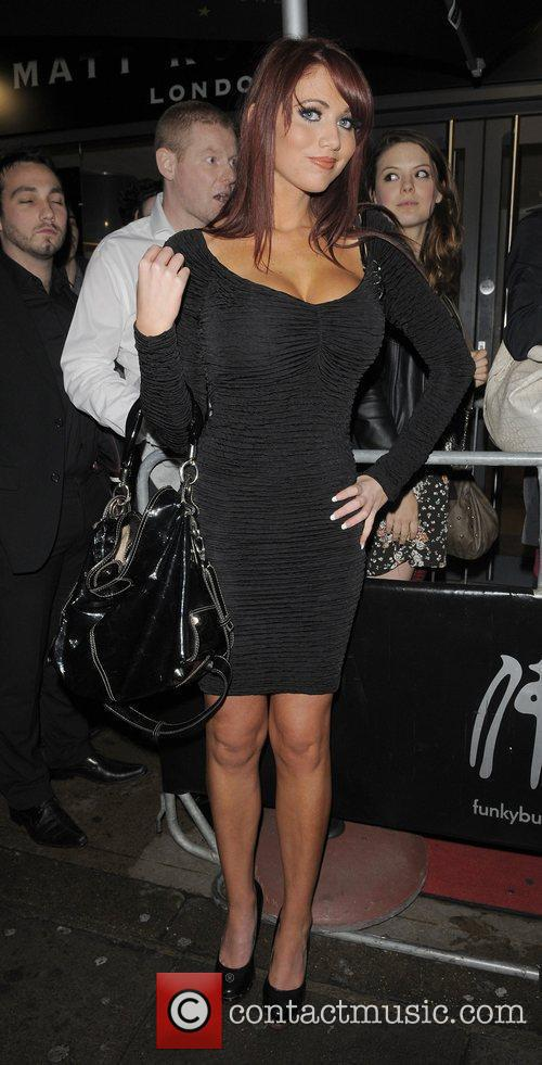 Amy Childs Playboy Energy Drink launch party, held...
