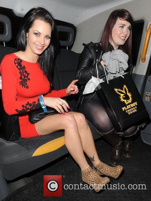 Jessica-Jane Clement leaving Funky Buddha nightclub, having attended...