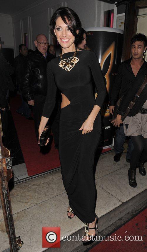Kelly Brook leaving Funky Buddha nightclub, having attended...
