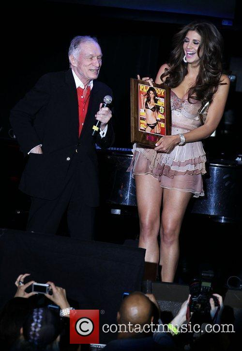 Hugh Hefner and Hope Dworaczyk 2