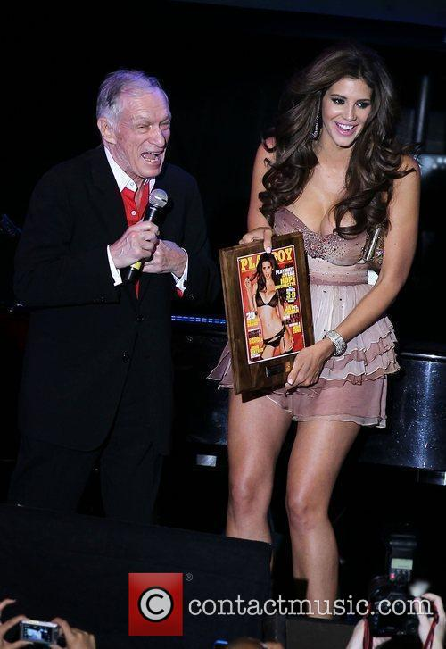 Hugh Hefner and Hope Dworaczyk 10