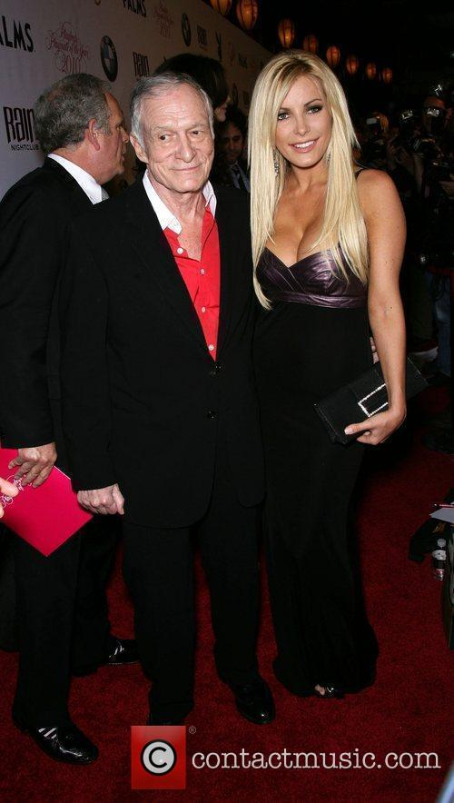 Hugh Hefner and Crystal Harris 6