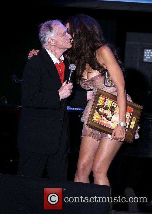 Hugh Hefner and Hope Dworaczyk 9