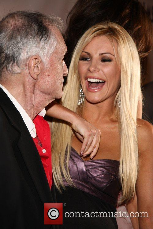 Hugh Hefner and Crystal Harris 11