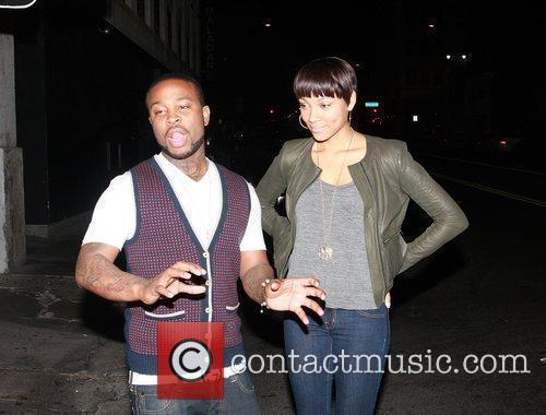 Pleasure P aka Marcus Cooper and Bria Murphy...