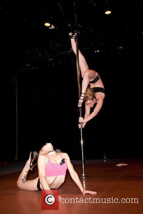 Dancer Rehearsals for the 2010 US Pole Dancing...