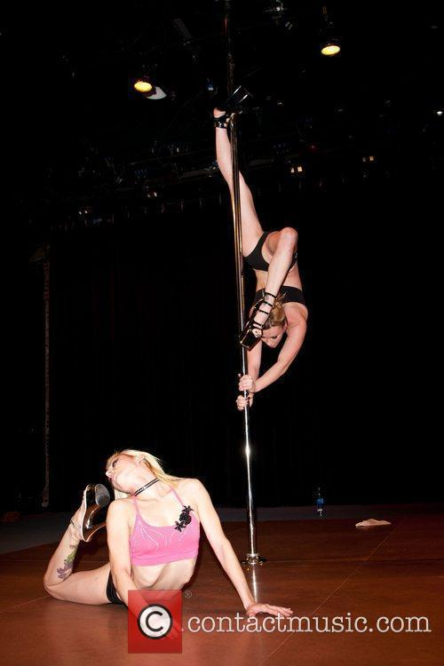 Rehearsals for the 2010 US Pole Dancing Championship...