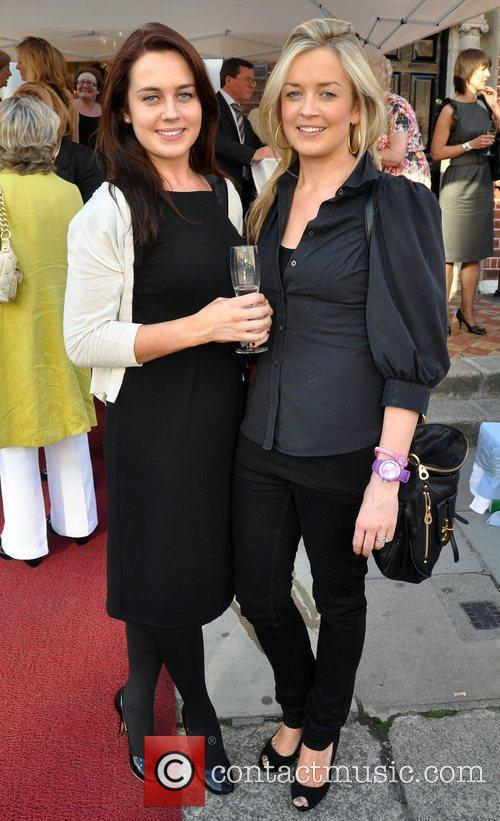 Sarah Quinn and Alison Obernik Actress Dervla Kirwin...
