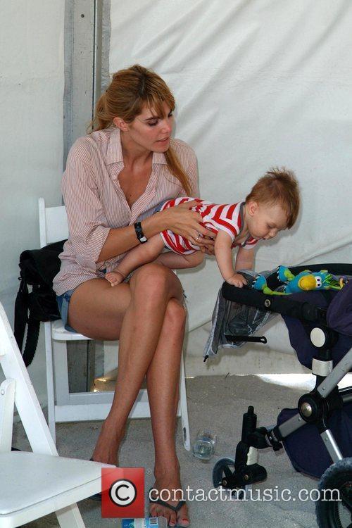 Delfina Blaquier and new baby The 2010 AMG...