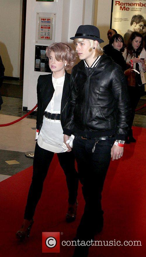Kelly Osbourne and Luke Worrall